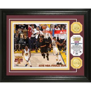 """2016 NBA Finals """"MVP"""" Bronze Coin Photo Mint"""