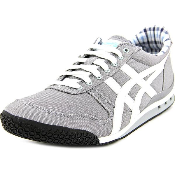 Onitsuka Tiger by Asics Women's Ultimate 81 Grey Cotton Canvas Casual Shoes