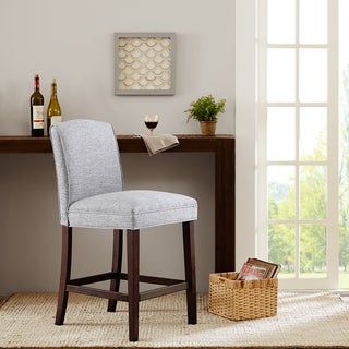 Madison Park Peyton Grey Counter Stool