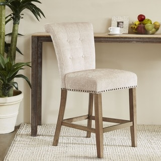 Madison Park Weldon Cream Counter Stool