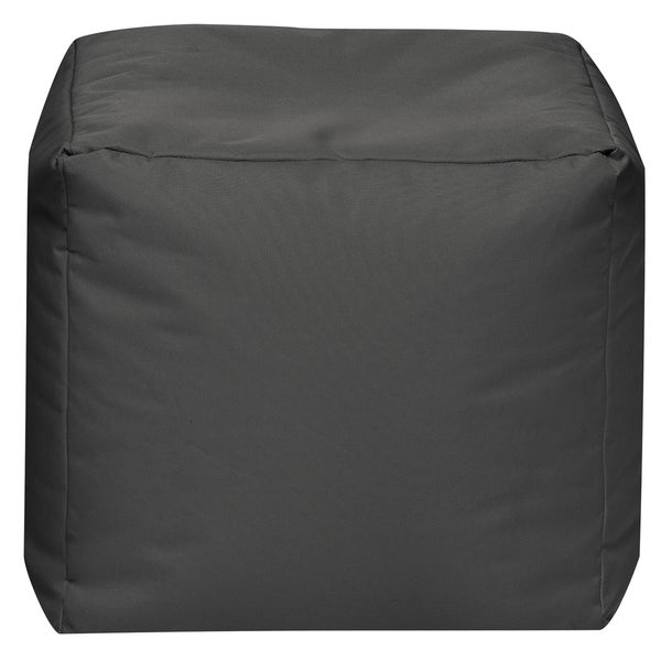 Sitting Point Waterproof Oxford Fabric Cube Scuba Pouf