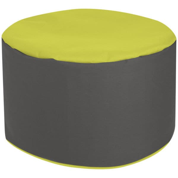 Sitting Point Waterproof Dotcom Bebop Scuba Lime Pouf