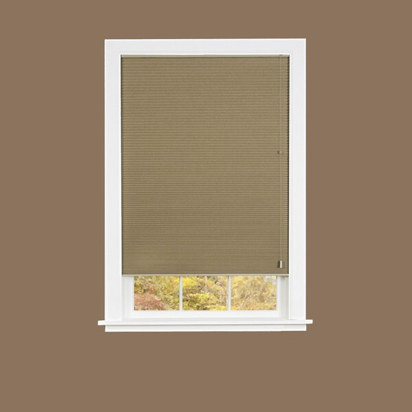 Mocha Honeycomb Cellular Pleated Shade