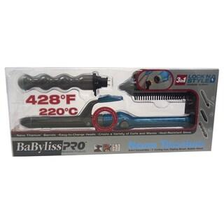 BaByliss Pro Nano Titanium 3-in-1 Lock Style Convertible Styler