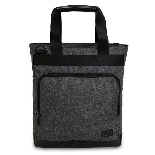 J World Nell Black Travel Tote Bag