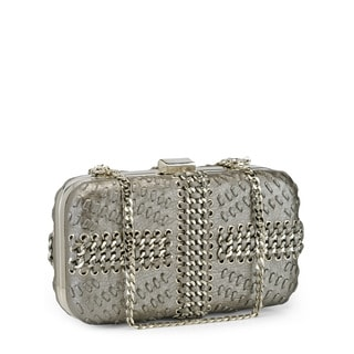 Jasbir Gill Women's Gunmetal JG-269 Clutch (India)