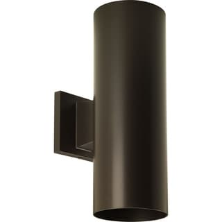 Progress Lighting P5675-20 Cylinder 2-light Wall Lantern