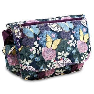 J World Terry Secret Garden Messenger Bag