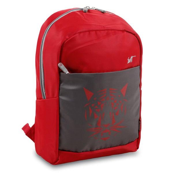 J World Scott Red Backpack