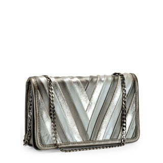 Jasbir Gill Women's Silver/ Gunmetal JG-280 Clutch (India)