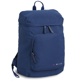 J World Eve Blue Polyester Laptop Backpack