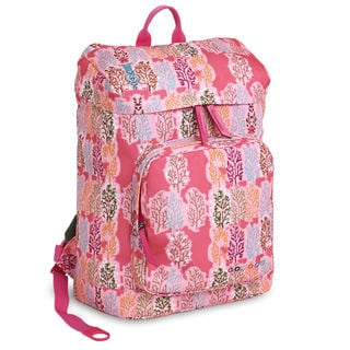 J World Eve Pink Forest Laptop Backpack
