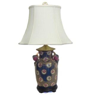 Royal Roses Porcelain Lamp
