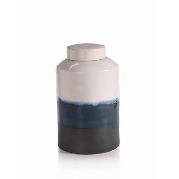 Grimaldi Earthenware Glazed Jar, Large