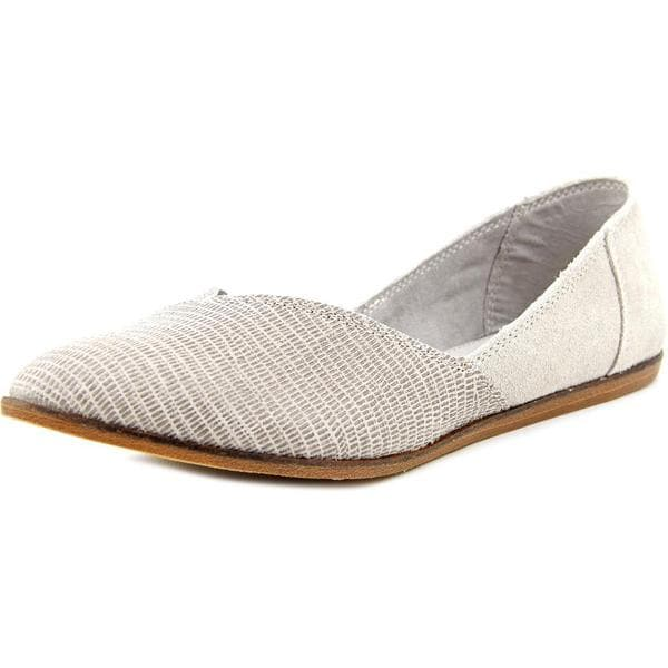 Toms Women's Jutti Flat Regular Suede Casual Shoes