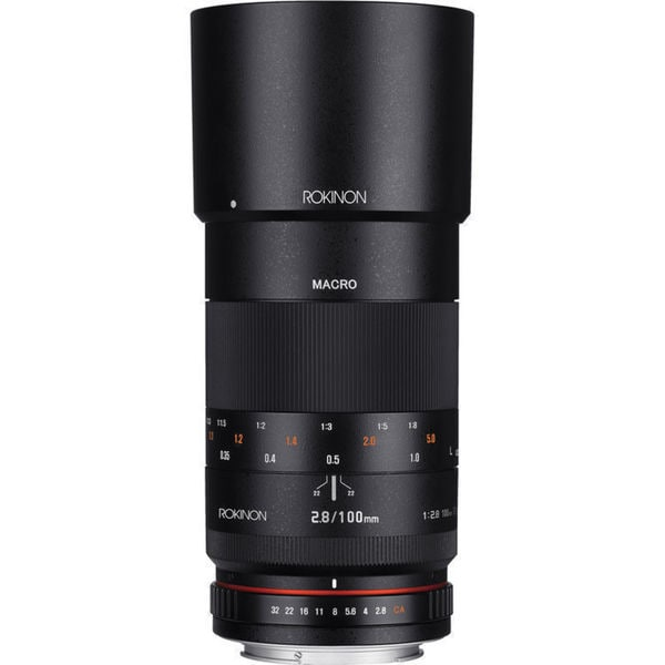 Rokinon 100mm f/2.8 Macro Lens for Canon EF