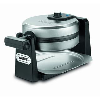 Waring Pro WMK200 Belgian Waffle Maker, Stainless Steel/ Black (Refurbished)