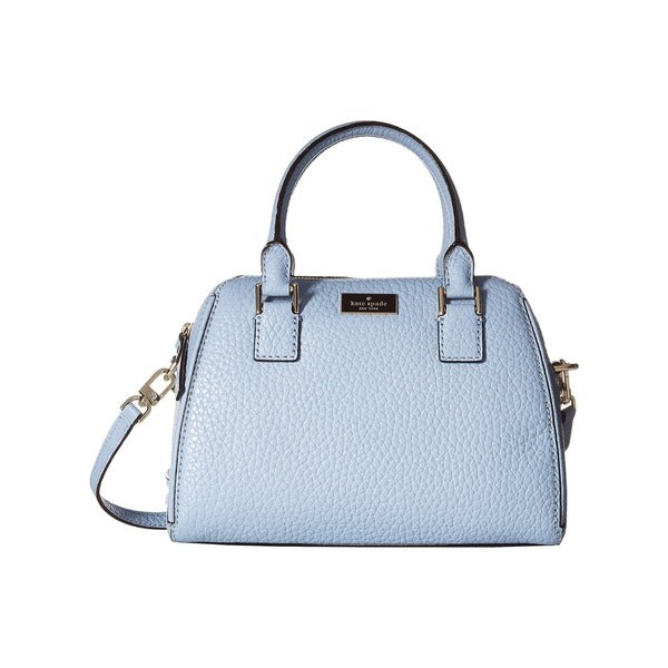 Kate Spade New York Prospect Place Dawn Dusk Small Pippa Blue Leather Satchel Handbag