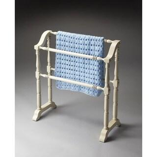 Butler Lillian Cottage White Blanket Rack