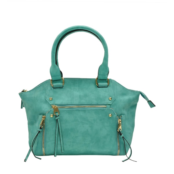 MoDA Trendy Double Handle Satchel Handbag