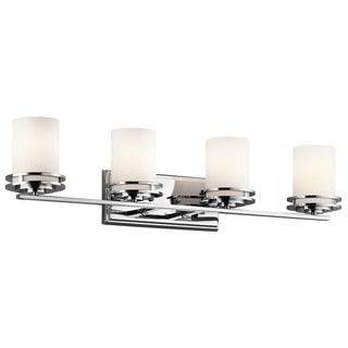 Kichler Lighting Hendrik Collection 4-light Chrome Bath/Vanity Light