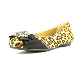 Adrienne Vittadini Women's 'Charo' Tan Haircalf Casual Shoes