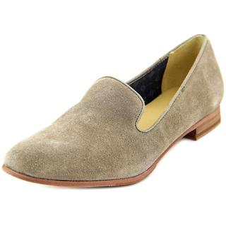 Sebago Women's Hutton Smoking Flat Grey Suede Regular Casual Shoes