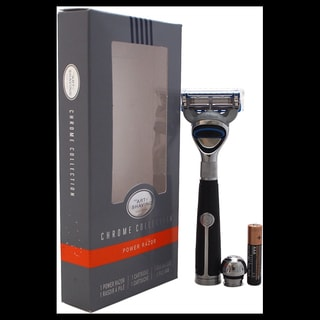 The Art of Shaving Fusion Chrome Collection Power Razor