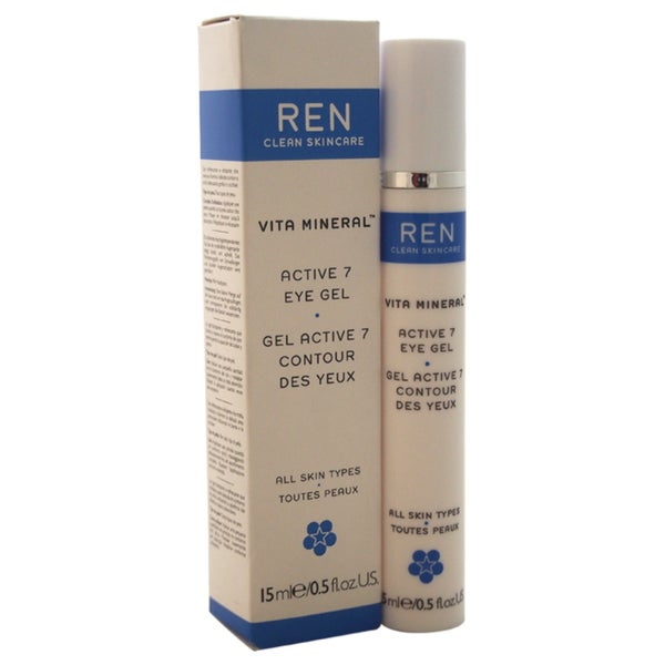 REN 0.5-ounce Vita Mineral Active 7 Eye Gel