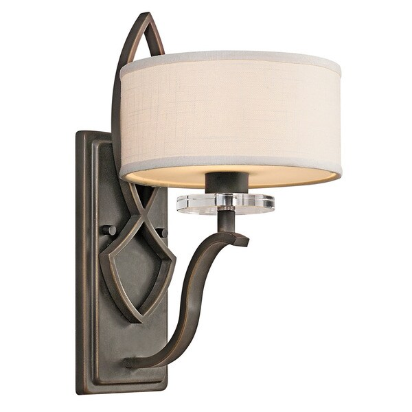 Kichler Lighting Leighton Collection 1-light Olde Bronze Wall Sconce