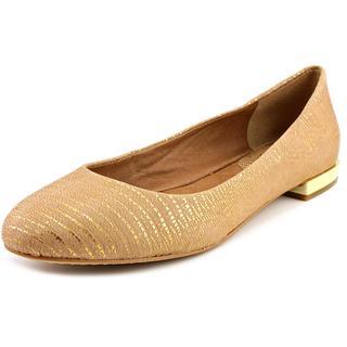 Vince Camuto Women's Behar Gold Leather Dress Shoes