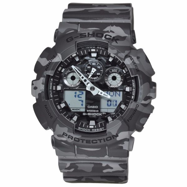 Casio Men's GA100CM-8A G-Shock Camouflage Watch