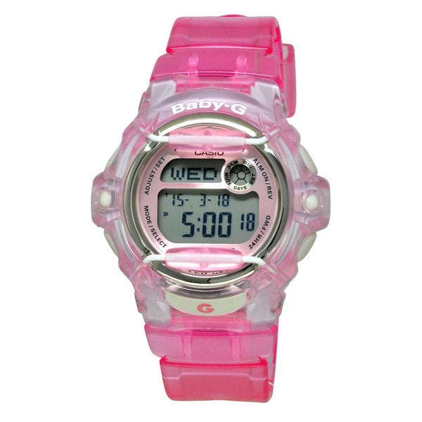 Casio Women's BG169R-4 Baby-G Pink Watch