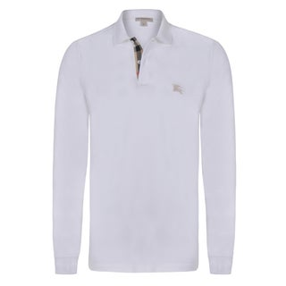 Burberry Men's Long Sleeve Polo Shirt