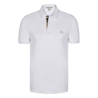 Burberry Men's Short Sleeve Polo Shirt