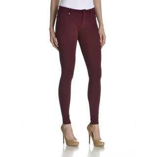 Ashley Women's Multicolor Rayon/Spandex Junior Casual Pant