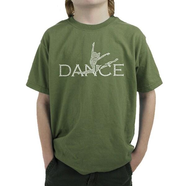 Boy's Dancer Cotton Graphic T-shirt