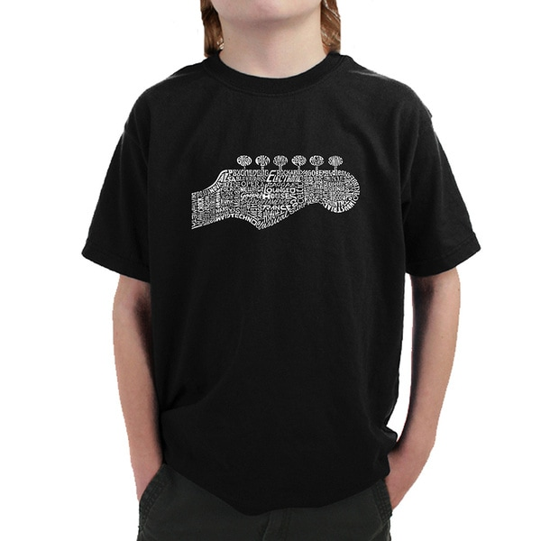 Boys' Guitar Head T-shirt