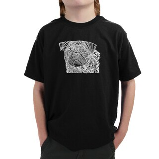 Boy's Pug Face T-shirt