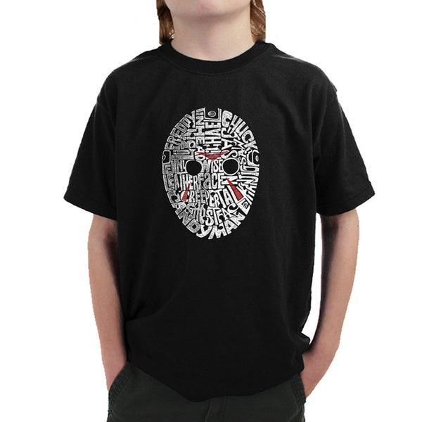 Boys' Slasher Movie Villians T-shirt
