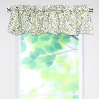 Findlay Seaglass 53x15 Rod Pocket Curtain Valance