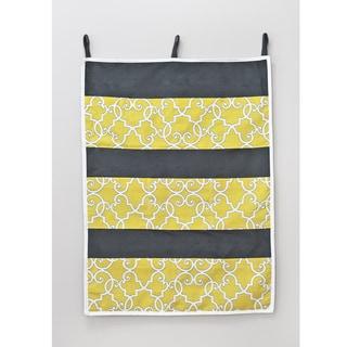Woburn Sunflower 26w x 36h 9 Pocket Wall Hanging