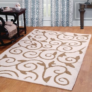 Affinity Home Scroll Ultimate Shag Area Rug (5' x 8')
