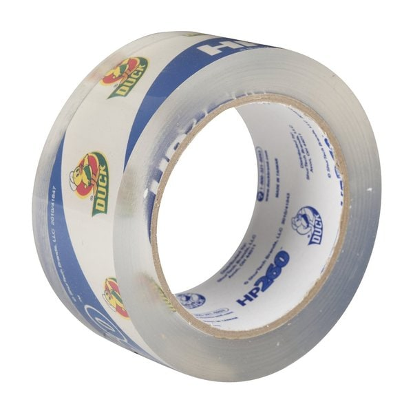 Duck Brand HP260 Crystal Clear Acrylic 1.88-inch x 60-yard 3.1-mil High Performance Packaging Tape Rolls (Case of 36)