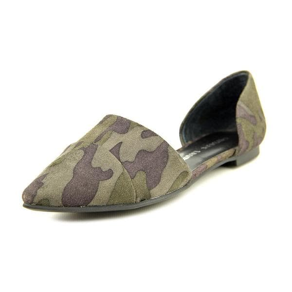 Chinese Laundry Women's Easy Does It Green Faux Suede Casual Shoes