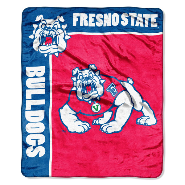 COL 703 Fresno St School Spirit Raschel Throw