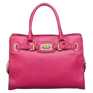 Michael Kors Hamilton Jewel Deep Pink East/West Tote Bag