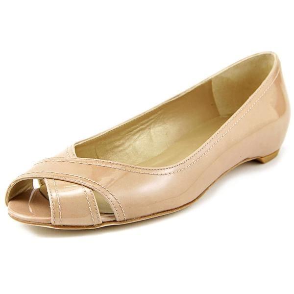 Stuart Weitzman Women's Exflat Patent Leather Casual Shoes