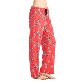 BHPJ by BedHead Women's Classic Cotton-blended Pajama Pants