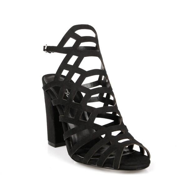 Hotsoles Ferret Laser Cut Women's Peep-toe Heels